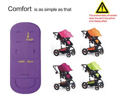 Baby Stroller Seat Liner Pram Cushion Padding Crawl Pushchair Car Seat Mat Cover 8
