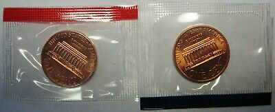 1997 P and D Lincoln Cents Grading GEM BU in Original Mint Cello Packs FREE S&H 2