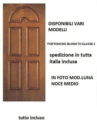 PORTA BLINDATA CLASSE 3 Fuori Misura Certificata Offerta Blindato ...