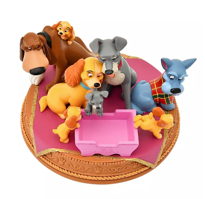 Disney Store Lady and the Tramp Dogs Figurine Story Collection New 2021 Japan