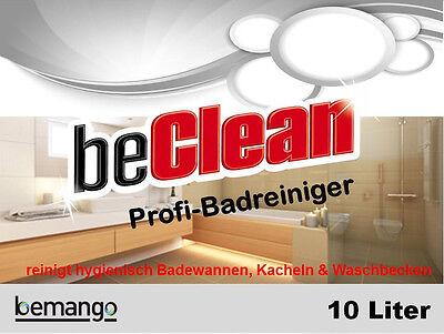 Badreiniger bathcare 10l Kanister Sanitärreiniger Kalklöser 2
