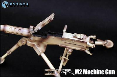 1//6 ZY Toys Model Army Browning M2 Machine Gun Model Toy F 12/'/' Action Figure
