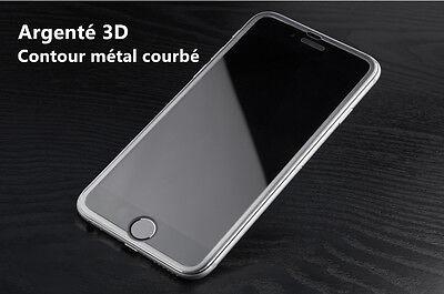 film protection écran VITRE EN VERRE TREMPE Intégral 3D iPhone 7,6,6S,8 Plus X 7
