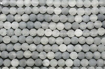 Wholesale Matte Frosted Natural Gemstone Round Loose Beads 4mm 6mm 8mm 10mm 12mm 10