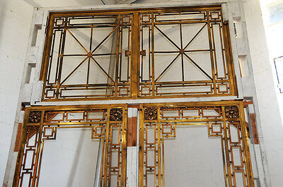 Bronze Entry Doors with Transom #509 5