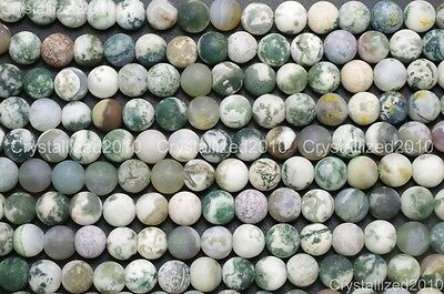 Wholesale Matte Frosted Natural Gemstone Round Loose Beads 4mm 6mm 8mm 10mm 12mm 9