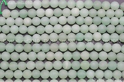 Wholesale Matte Frosted Natural Gemstone Round Loose Beads 4mm 6mm 8mm 10mm 12mm 12