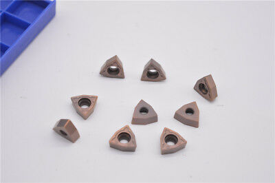 10Pcs WCMT050308FN ACZ330 Carbide Inserts for CNC Lathe Turning Tool Holder Q2E7