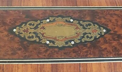 19th C. Napoleon III French Glove Box, Boulle Inlaid Decoration 2