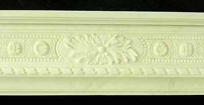 Beautiful Hand Carved Marble European Design Marble Figural Fireplace Mantel Z4 3