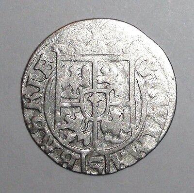 1625 Medieval Poland, Sigismund III. (1587-1632) AR 3 Polker