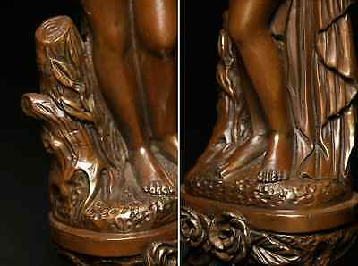 Antique Beautiful Naked Woman / Bronze /  size w12 h44 [ cm ] 3.36kg 5