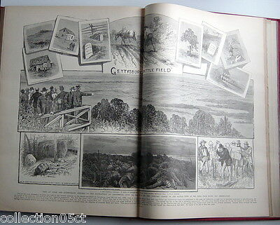 1902'S Book, Battles And Commanders Of Civil War, Leslie's Famous War Pictures 6