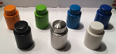 1PCS Wine Bottle Stopper Plug With Vacuum Seal Winery Sealer Top Airless Saver