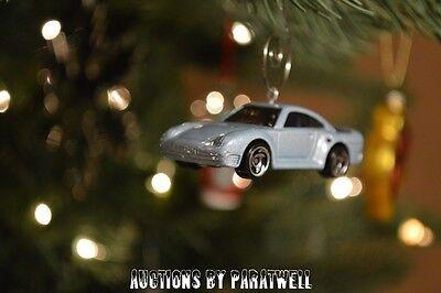 Porsche 911 Turbo Car Custom Christmas Ornament 1:64 Scale