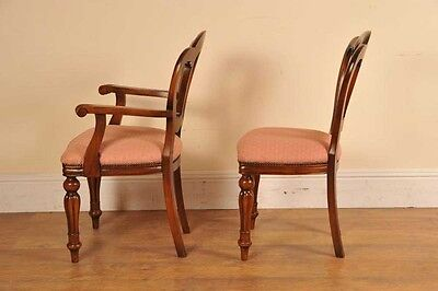 6 Victorian Dining Chairs Admiralty Mahogany 7