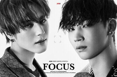 GOT7 JUS2 [FOCUS] Mini Album CD+POSTER+Book+Lyrics+2p Card+Pre-Order+GIFT SEALED 5