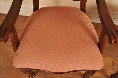 6 Victorian Dining Chairs Admiralty Mahogany 3