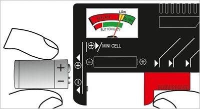 Comprobador TESTER Universal de Pilas y Baterías BT-168 DESDE ESPAÑA m24 5