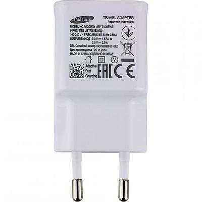 Original Samsung 2A Chargeur De Secteur Rapide Prise Courant Cable Voyage Bureau 4