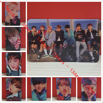 8pcs/set Kpop BTS YOU NEVER WALK ALONE Photo Card Album Photo Card - Unofficial 2