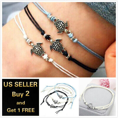 17+ Styles Gold Anklet Ankle Bracelet Foot Chain Heart Beads Pineapple Rope 2