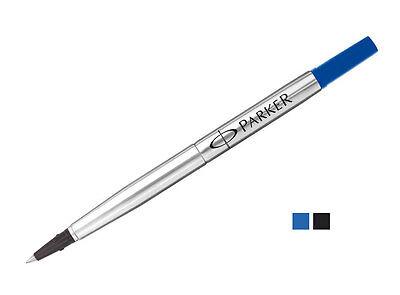 Parker Pen Rollerball Refill x 3 in Black Medium Tip