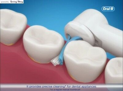 Braun Oral-B Ortho Care Essentials Refills (1 Power Tip + 2 Orthodontics Heads) 3