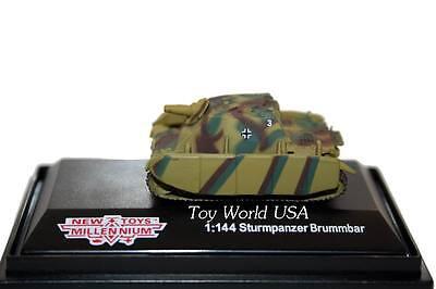 New Millennium Toys Classic Armor Sturmpanzer Brummbar WWII German Tank