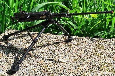 WWII MINI DESKTOP Ma Deuce  50 Caliber Machine Gun - M2 Browning - Denix  Replica