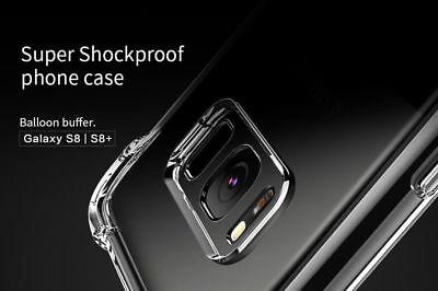 TPU Crystal clear 360°Soft Ultra thin Case Cover Samsung Galaxy S10 S7 Edge S8 + 8