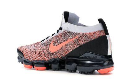 Nike Air Vapormax Flyknit 3 Black Mango AJ6900-800 Running Shoes Men's Size 6