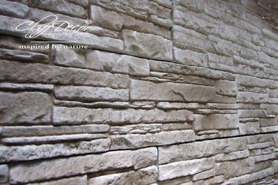 72 plastic molds *CALIBRA* for concrete veneer wall stone stackstone tiles