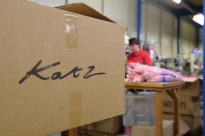 Turquoise Shiny Metallic Dance Long Sleeve Leotard Katz Dancwear KDC029 SECONDS 12