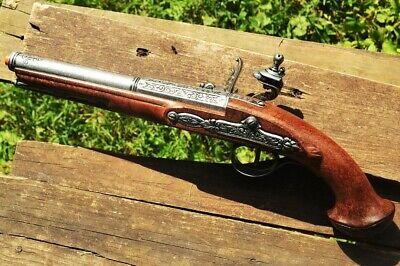 18TH CENTURY FLINTLOCK Pistol - Revolutionary War - Pirate - Denix Replica