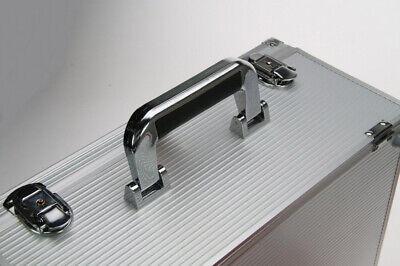 Look Alluminio Valigia per Monete Gigante 15 Tableaux Rosso 60 Scompartimenti 5