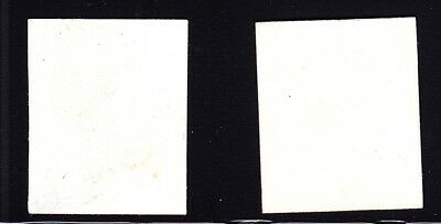 US 3P4-4P4 1875 Reproduction Issue Plate Proofs on Card XF SCV $500 2