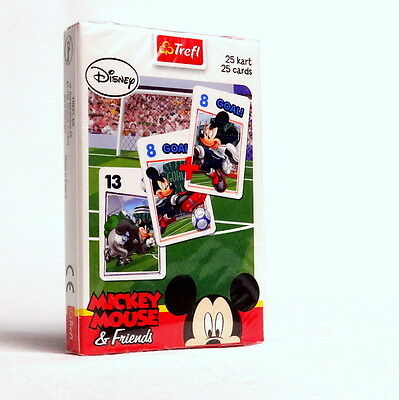 Disney Mickey Mouse Playing Card Games Black Peter Memo Karty Do