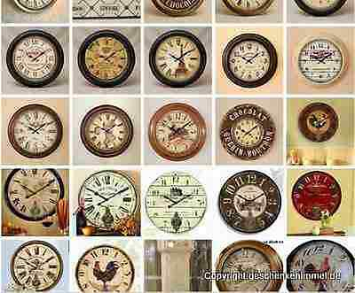 Wall Clock Iron round Open Gift Vintage Aesthetics Rarity Route 66 Stimewitness 7