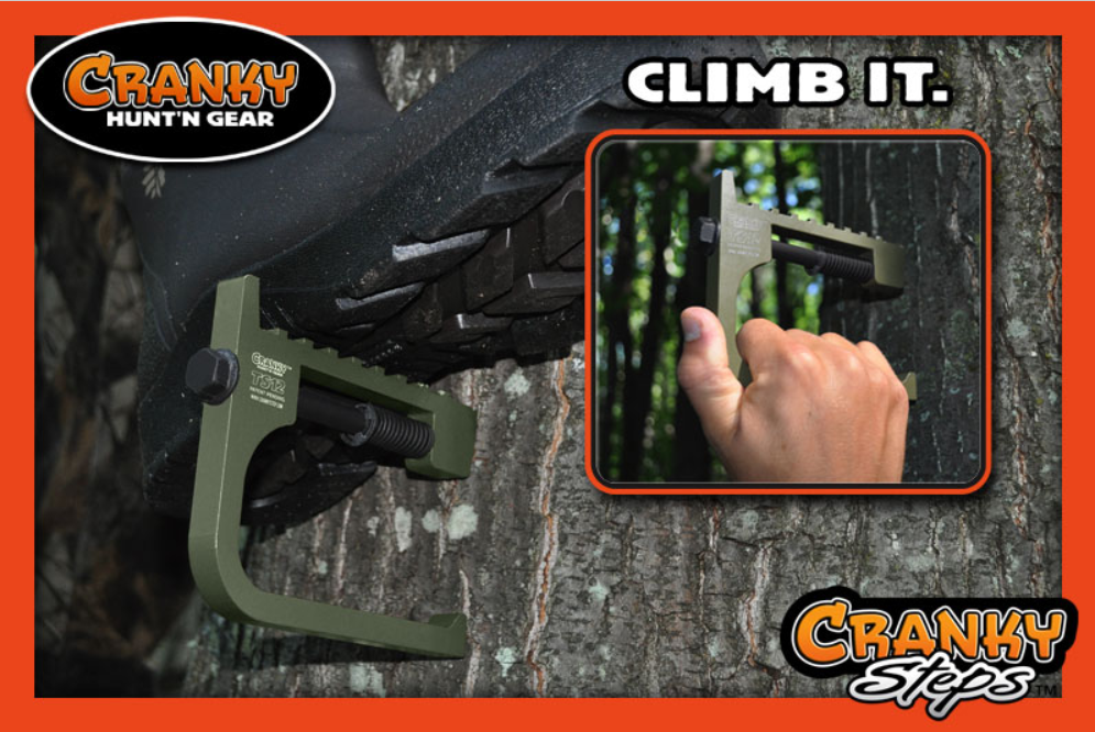 Cranky Hunt/'n Gear Tree Climbing Steps