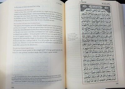 SPECIAL OFFER:The Majestic Quran Arabic Text with Plain English Translation (HB) 2