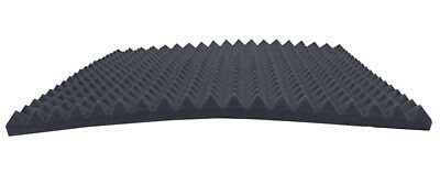 Black FSE SELBSTKLEBEND 4 cm Flammhemmend Raum Akustikschaumstoff Schall Dämmung