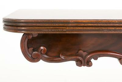Victorian Mahogany Card Table - Games Tables 1860 3