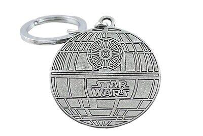6 cm Star Wars Porte-clés Métal 3D Vaisseau Figurine Faucon Millenium Han Solo