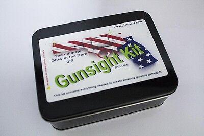 Gun Sight Deluxe Kit Glow In The Dark Night Sights Sight