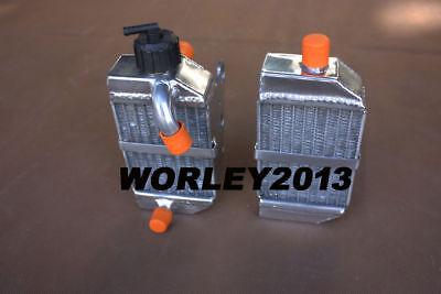 Aluminum Radiator For KTM 50 SX 2016 SXS Mini 49cc//50cc 2012-2017 13 14 15 16