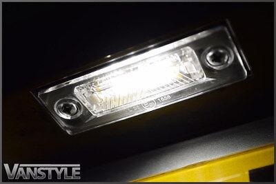 Vw Volkswagen Transporter T5 T5.1 2003-15 Number Plate Lights Led Bulb Upgrade