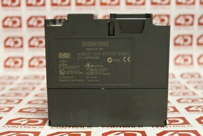 Siemens 6ES7 314-6CF02-0AB0 Simatic Compact Controller - Used 2