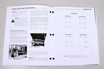 Ford new holland 3415 tractor owners operators manual maintenance 6 of 7 ford new holland 3415 tractor owners operators manual maintenance diesel fandeluxe Gallery