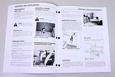 Ford new holland 3415 tractor owners operators manual maintenance 2 of 7 ford new holland 3415 tractor owners operators manual maintenance diesel fandeluxe Image collections